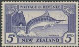 NZ SG584c 5d Striped Marlin (Swordfish) perf 13¾x13½